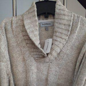 ⭐️Host Pick⭐️Le Chateau men's shawl sweater XXL